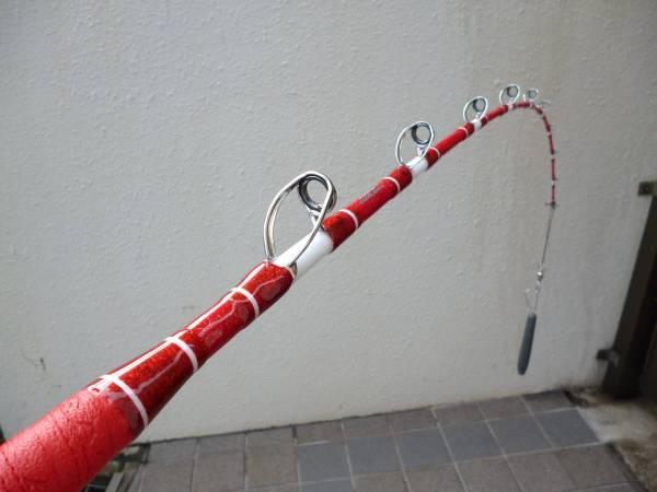 ●スタンディングシャープH 赤ラメ/シルバーガイド