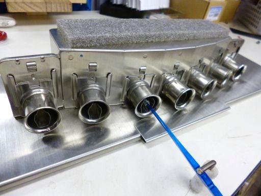 軽量/ステンレス製/イカ角投入機(7本)内径20mm