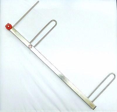 GETオリジナル ステンレス角型掛け枠50cm【軽量タイプ】