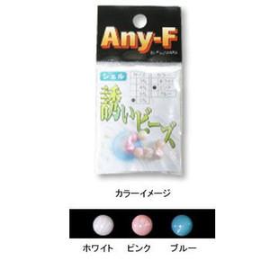 【4mm】誘いビーズ【シェル】ピンク/フジワラ
